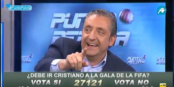 Siro López bromea sobre los impagos en Intereconomía TV y Pedrerol le corta