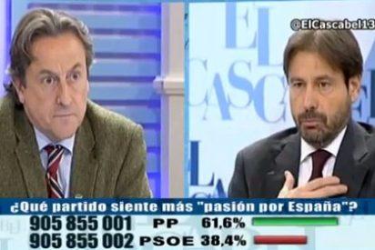 """Tertsch a Ricardo Martín: """"No pongas en mi boca que yo he dicho que Marlaska es un etarra"""""""