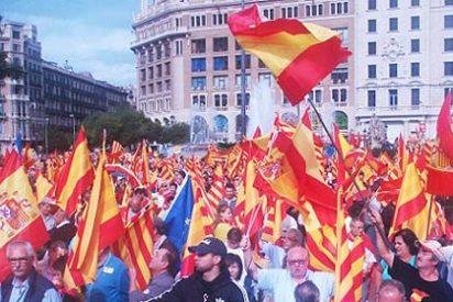 Plataforma anti-independencia de Cataluña convoca en Barcelona un acto de apoyo a la Constitución