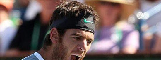 Al tenista Juan Martín del Potro le roban la cartera y no es una metáfora