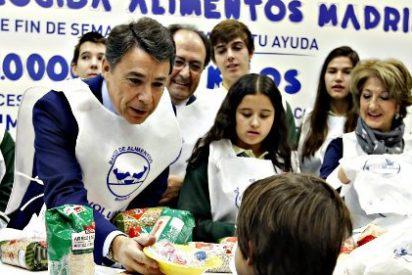 El presidente González apoya la 'Gran Recogida' de un millón de kilos de comida