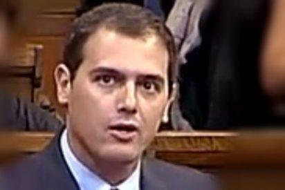 """Albert Rivera: """"Señor Mas, usted no tiene la valentía de decirle a Junqueras que tiene ideas de bombero"""""""