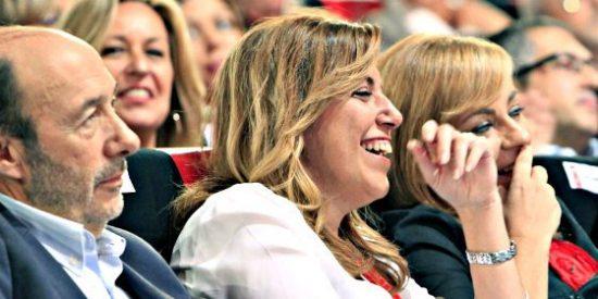 El PSOE ya tiene quien le mande: Se llama Susana y es la que se ríe en las fotos