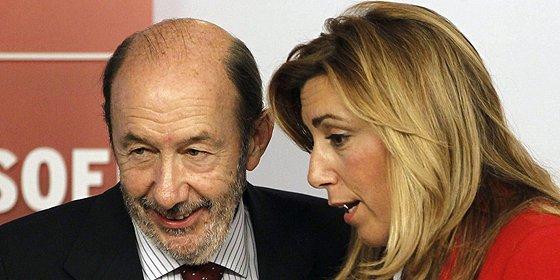 """Susana Díaz: """"En el PSOE nos equivocamos, pero queremos rectificar"""""""