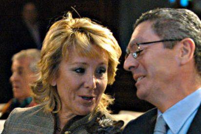El 'resbalón' de Esperanza Aguirre, el palo de Gallardón y la venganza