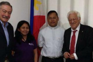 """Osoro al Padre Ángel: """"Gracias por hacer presente a la Iglesia española en Filipinas"""""""