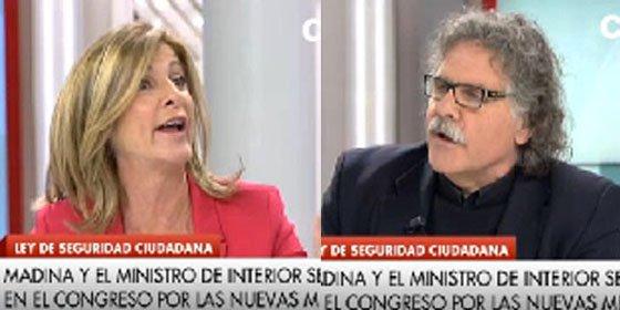"""Tardá insulta a Carmen Tomás: """"¡Tendríamos que subvencionar a todos los fascistones! ¡Está enferma y es ridícula!"""""""