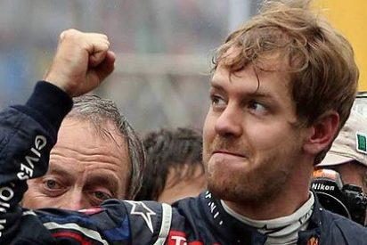 Vettel consigue su novena victoria consecutiva