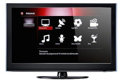 La televisión híbrida es sobre todo televisión, no Internet