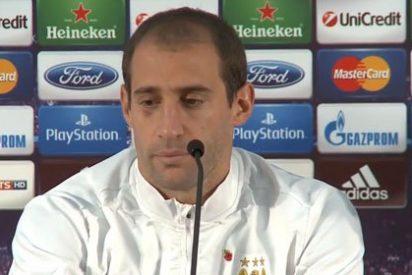 """Zabaleta: """"Hablo con Messi del City"""""""