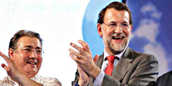 Rajoy, Cospedal, Montoro y la plana mayor del PP, de boda en Sevilla con el papel couché
