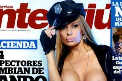 "Para demostrar su triunfo en Hollywood, Sonia Monroy se desnuda en 'Interviú': ""Jorge Javier va a durar dos telediarios"""