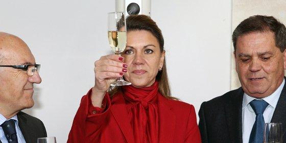 Cospedal pide brindar en las fiestas navideñas con espumosos de Castilla-La Mancha