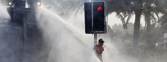 Interior comprará un camión antidisturbios de agua a presión para despintar al más puesto