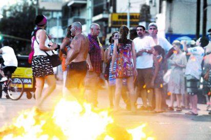 Argentina: Alta tensión en las calles y muy poca electricidad en las casas