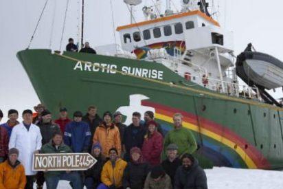 Rusia tiene presos desde septiembre a los 30 activistas de Greenpeace pillados en el Ártico