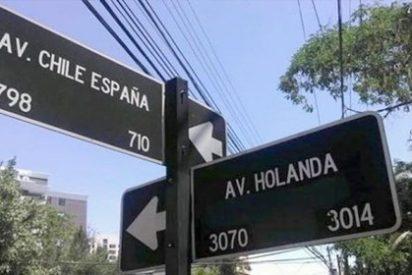 Las calles de Chile ya sabían el grupo de España