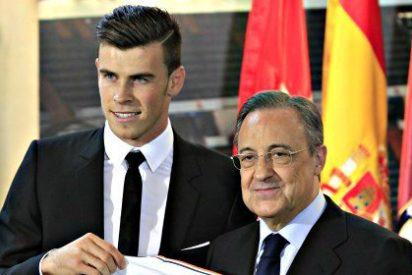 """Florentino Pérez: """"El fichaje de Gareth Bale no lo ha pagado Bankia sino el Real Madrid"""""""