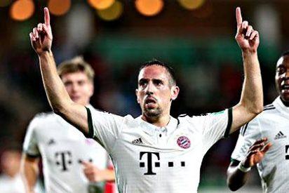 El Bayern de Guardiola y Ribery se pasea de camino a la final del Mundial de clubes