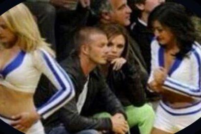El pícaro Beckham pillado por Victoria