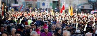 """El patriarca latino de Jerusalén pide una solución """"justa y equitativa"""" al conflicto israelo-palestino"""