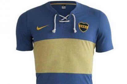 Así es la camiseta retro de Boca