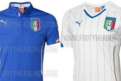 Así será la camiseta de Italia para el Mundial