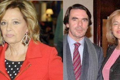 (VIDEO) María Teresa Campos no fue la única que metió la pata con los Aznar