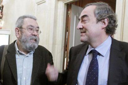 El presidente de la CEOE, el mejor aliado de Cándido Méndez: