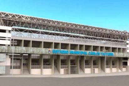 El Oviedo-Racing, suspendido por lanzamiento de un petardo