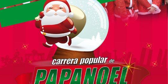 El Corte Inglés adelanta la Navidad con la II Carrera Popular de Papá Noel