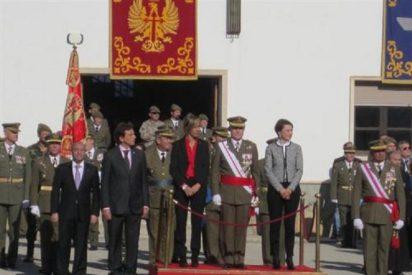 """La Infantería pide a su patrona que """"dé luz"""" a los políticos para que la crisis pase pronto"""