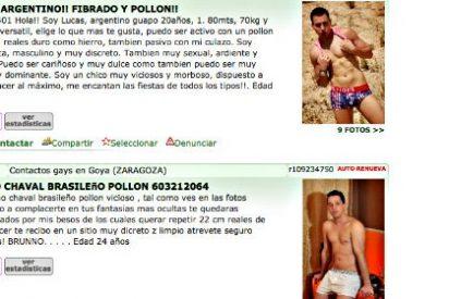 La crisis económica triplica la prostitución masculina en España