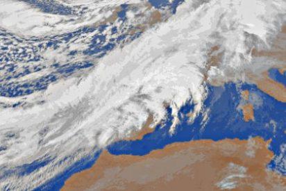 Una ciclogénesis explosiva hace tiritar a España en Nochebuena y Navidad