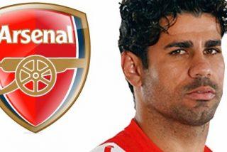 El Arsenal, dispuesto a pagar la cláusula de Diego Costa
