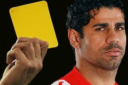 Diego Costa también es Pichichi en provocar tarjetas