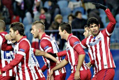 La vida es bella en el Calderón para el Atlético de Madrid de Simeone