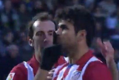 Diego Costa manda callar a la afición del Elche