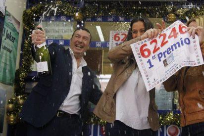 El 'Gordo' vuelve a zamparse la suerte y nos deja sólo las sobras de un quinto premio