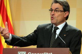 "Artur Mas apela a la ""raza"" para conseguir ""la libertad de Cataluña"""