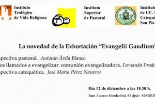 """Presentación en Madrid de """"Evangelii Gaudium"""""""