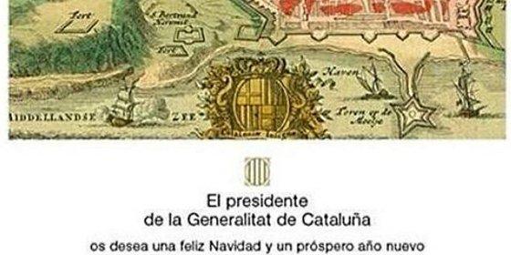 Mas da otra vuelta de tuerca felicitando las Navidades con el asedio de Barcelona