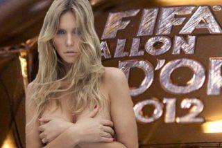 El vídeo casero de Fernanda Lima, la cachonda que dejó flipado a Blatter en el sorteo el Mundial