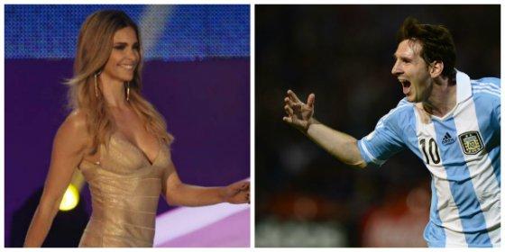 Arrementen en Irán contra Messi y Fernanda Lima