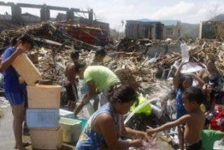 Filipinas, un mes después: asegurada la supervivencia de 29.585 personas