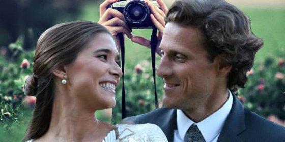 Forlán no quiere 'topos' en su boda
