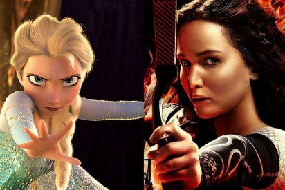 'Los juegos del hambre: En llamas' y 'Frozen: El reino del hielo' rompen en Acción de Gracias