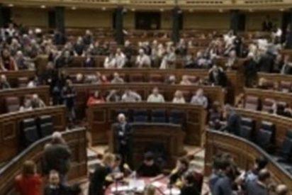 """Las jornadas de puertas abiertas del Congreso permiten a un """"hoolligan"""" liarla en el Salón de Plenos"""