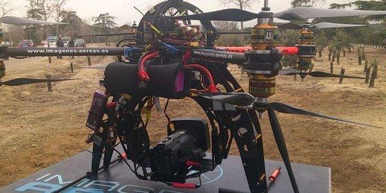 La Guerra de las Galaxias llega a Madrid: el Ayuntamiento utilizará un drone para emergencias