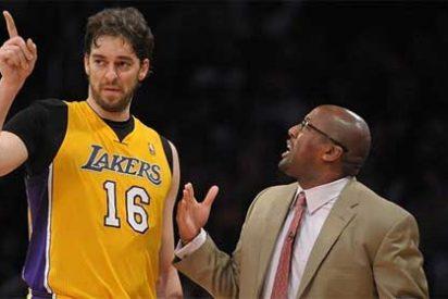 Abucheos a Pau Gasol en el regreso de Kobe